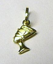 Marcello Diamant Zlatý přívěsek kleopatra ze žlutého zlata 585/0,4gr T040