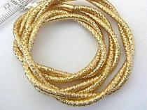 Pretis zlatý náhrdelník (náramek) 40cm/5,65g