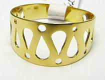 Holan Jaroslav zlatý prsten ze žlutého zlata 585/2,58gr H359