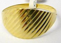 Pretis zlatý prsten s gravírováním 585/1,45gr P487