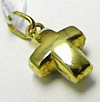 Marcello Diamant Zlatý křížek - přívěsek 585/,45gr T148