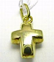 Marcello Diamant Zlatý křížek - přívěsek 585/,45gr T149