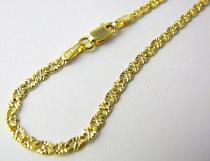 Pretis/zlatý řetízek s gravírováním 50cm 585/2,95gr P524