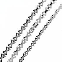 SKALIMAR 316L 320008 ocelový řetízek a náramek set 320008