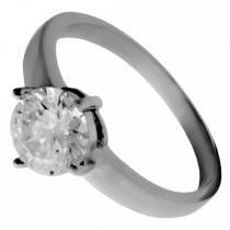 SKALIMAR Zásnubní ocelový prsten z chirurgické oceli 316L 312465/16