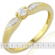 Pretis zásnubní diamantový prsten posetý brilianty 3811267