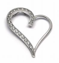 Optima Diamant Diamantový zlatý přívěsek s diamanty 585/1,93gr J-20691-12