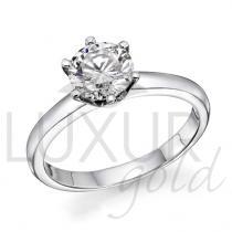 Pretis Zásnubní diamantový prsten, bílé zlato, ARTEMIS, GEMS