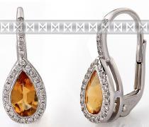 Pretis Diamantové náušnice s kameny 3880804