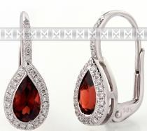 Pretis Diamantové náušnice s kameny 3880802