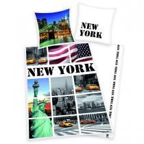 Herding Povlečení New York pohlednice 140x200