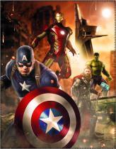 CTI Fleece dečka Avengers Age of Ultron 110x140
