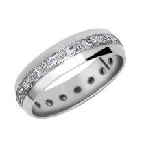 Soliter Zlatý snubní prsten 340 - 585/3,05g se zirkony