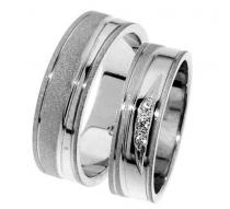 Pretis Zlatý snubní prsten Gems Line, 436-0311_0312