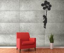 1Wall Banksyho dívka s balónky 315x232