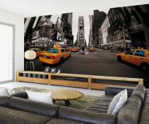 1Wall New York Ulice s taxíky 315x232