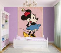 1Wall Minnie Mouse retro 158x232