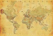 1Wall Retro mapa 158x232
