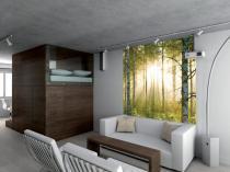 1Wall Prosvětlený les 158x232