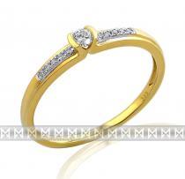 Pretis Luxusní zásnubní diamantový prsten GEMS diamonds, zlato 3810827-5-54-99 3810827-5-54-99