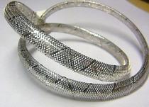 Pretis Luxusní zlatý natahovací náhrdelník z bílého zlata