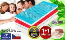 VISCOPUR matrace Bohemia 200x200 cm
