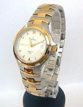 Grovana ocelové bicolor švýcarské hodinky se safírovým sklem 5077.1