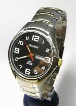 Foibos Titanové pánské vodotěsné hodinky 90173-1 se safírovým sklem 5ATM