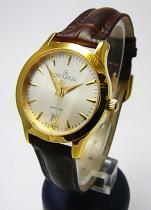 Grovana Dámské švýcarské zlacené hodinky 3201.1512 se safírovým sklem