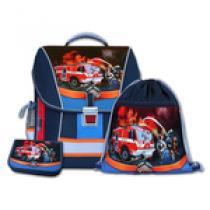 EMIPO Rescuer 3 dílný Školní batohový set