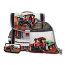 EMIPO Traktor 3 dílný Školní aktovkový set