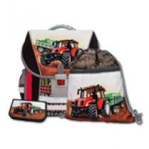 EMIPO Traktor 3 dílný Školní batohový set