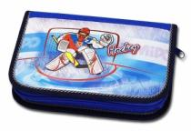 Emipo Školní pouzdro plněné Hockey 2-klopy