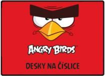 Karton P+P ANGRY BIRDS Desky na číslice