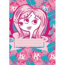 Presco Group Příšerky Girls - školní sešit A5, 40 listů, nelinkovaný