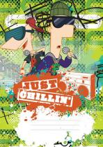 Presco Group Phineas & Ferb Boys - školní sešit A4, 40 listů, nelinkovaný
