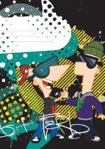 Presco Group Phineas & Ferb Boys - školní sešit A5, 40 listů, nelinkovaný