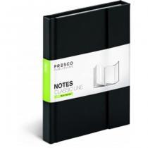 Presco Group Notes Classic Line magnetický linkovaný, 10,5 x 15,8 cm