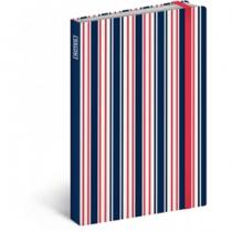 Presco Group Notes Sailor Stripes, 10,5 x 15,8 cm
