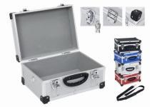 VARO PRM10106BL modrý hliníkový kufr