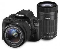 Canon EOS 100D + 18-55 mm IS STM + 55-250 mm IS STM