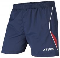 STIGA Fashion modrá s červeným Šortky