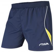 STIGA Fashion modrá se žlutým Šortky