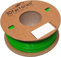 3D Factories PLA 1,75 mm 5m zelená
