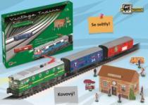 PEQUETREN Historický nákladní vlak Merachandises Train