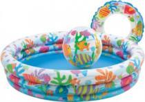 INTEX Dětský set Bazén + kruh + balón