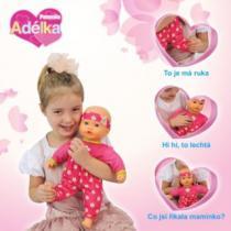 Panenka Adélka seznamuje děti s částmi lidského těla