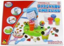Hrej si & tvoř MODELÍNA Zmrzlinový stroj