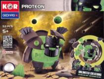 GEOMAG - KOR Proteon AKI - 53 dílků