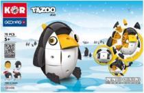 GEOMAG - KOR Tazoo JELO - 70 dílků
